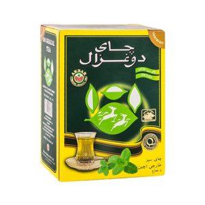 چای سبز 250 گرمی دوغزال