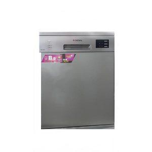 ماشین ظرفشویی جنرال آدمیرال 14نفره مدل W-G406S سیلور
