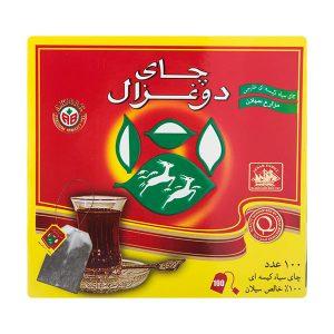 چای كيسه ای دوغزال 100 عددی