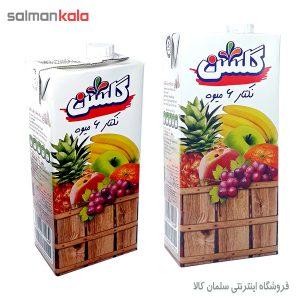 آبمیوه 6 میوه گلشن یک لیتری