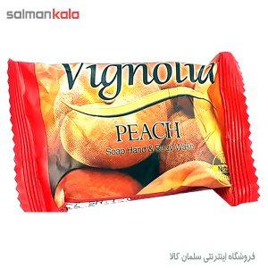 صابون ویگنولیا مدل Peach مقدار 75 گرم
