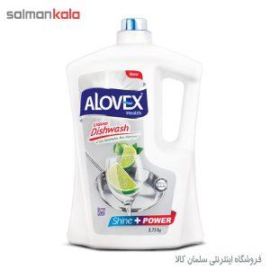 مايع ظرفشویی آلووکس ۴ لیتری