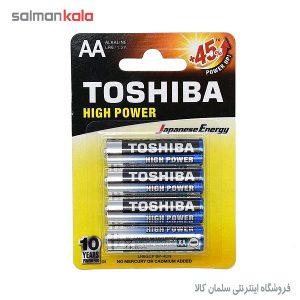 باتري قلمی آلكالاين توشيبا 4 تايی
