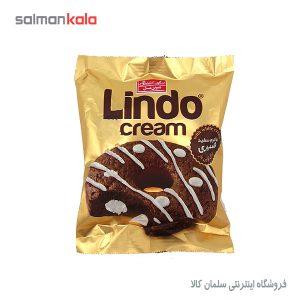 کیک کاکائویی با کرم سفید شیری لیندو شیرین عسل 50 گرم