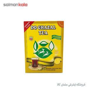چای دو غزال هل دار 250 گرمی