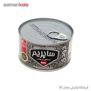 كنسرو تن ماهی ساپريم در روغن دودی 200 گرم