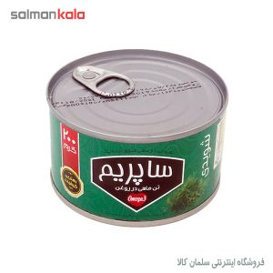 كنسرو تن ماهی ساپريم در روغن شويدی 200 گرم