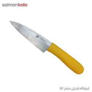 چاقوی استیل راسته ای کوتاه طاهری
